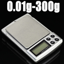 0.01g 300g Digital Electronic Balance Weight Scale Mini Pocket Jewelry - lucky bee store