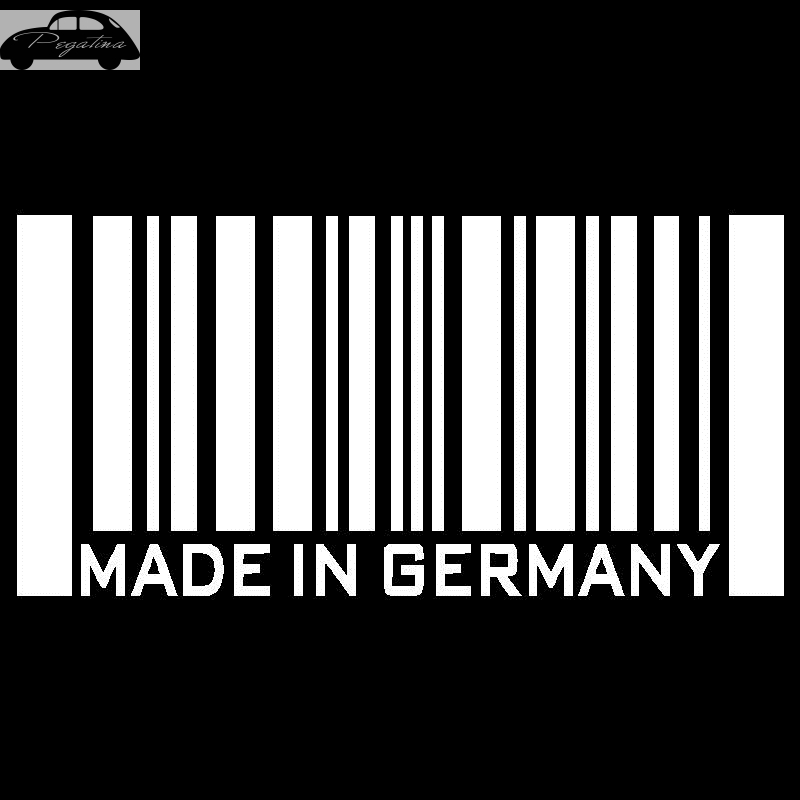 Pegatina Made in Germany Decal Sticker Car Window Vinyl Decal Funny Poster Motorcycle