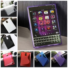 For Blackberry Passport Q30 New High Quality Multi Color S Line Skidproof Matte Gel Skin Case Cover