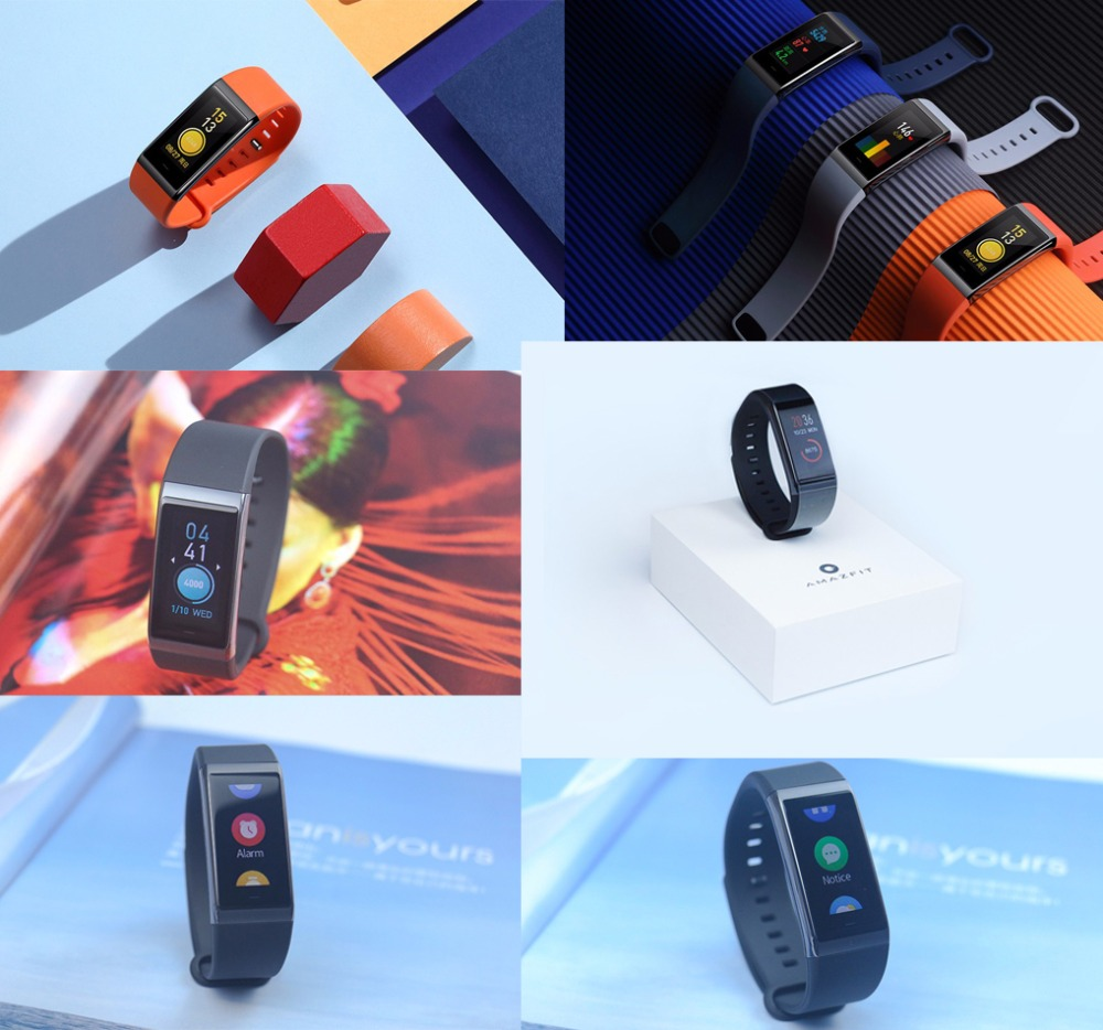 Original Huami Amazfit Cor Smart Bracelet MiDong band English Version Waterproof IPS 316L Stainless Steel Frame For Android IOS-19
