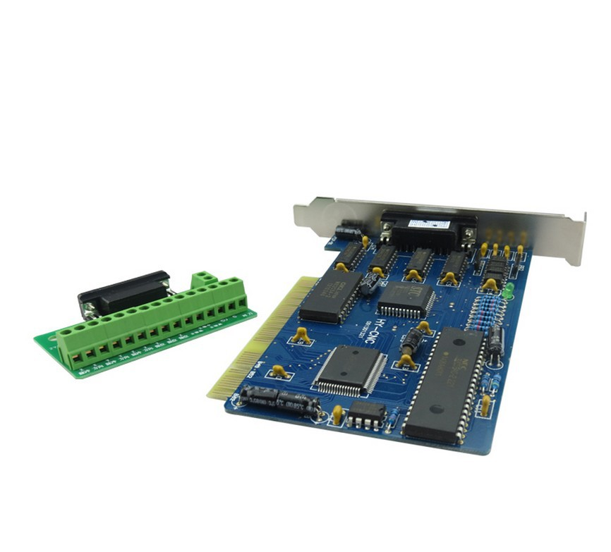 DIY 3 axis CNC Router PCI NC Studio Card Controller Control System Board CNC Router Kits Parts without cable<br>