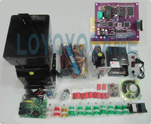 NEW Solt game kits with the 6X PCB, Coinhopper, coin acceptor, buttons, harness. etc for casino slot game machine(China)