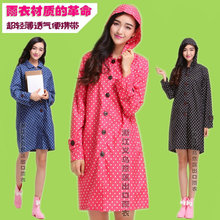 Newest Polka Dot 100% raincoat poncho women waterproof  Capa De Chuva,outdoor Rain Coat Jacket  Trench Chubasquero Tracksuits