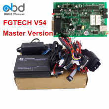 Best Price Fgtech Galletto 4 Master V54 ECU Programming Tool FG TECH V54 Unlock Version OBD2 ECU Chip Tuning Full Chip Green PCB