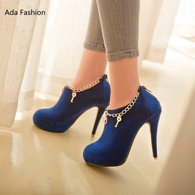 2017 new womens boots single shoes platform thin heels 12cm high heels fashion 3color wedding shoes womens pumps big size34-43<br><br>Aliexpress