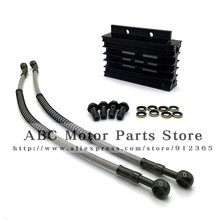 ALLOY OIL COOLER KIT LIFAN 110 125CC PIT BIKE 140 150CC DIRT BIKE FOR CRF(China)