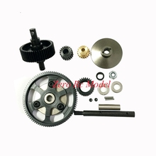 HD Steel Drive Transmission Straight Gears Set For RC 1/10 Axial Locked SCX10 Gearbox(China)