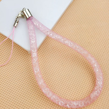 Bling Luxury Crystal Key Lanyard Mobile Phone Neck Keychains Straps for Girls(China)