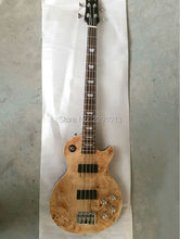 Guitar Factory Product Good quality LP bass guitar with good workmanship 4 strings bass Free shipping(China)