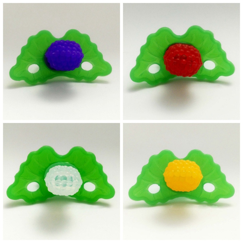 Baby Fruit Nipple Teether Toothbrush Infant Rattles Newborn Sleeping Toys Hot