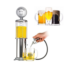 Hot Mini Beer Dispenser Machine Drinking Vessels Double Gun Pump with Transparent Layer Design Gas Station Bar for Drinking Wine(China)