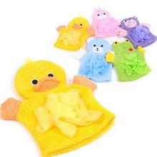 1PCS Cute Children Baby shower bathing bath towel 5Colors Animals Style Shower Wash Cloth Towels(China)
