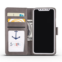 Buy iPhone X Case Luxury PU Leather & Silicone Cover iPhone X Phone Case Card Pocket Wallet Coque Flip iPhone x for $5.99 in AliExpress store