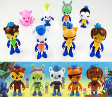 Cute Toddler Infantil Kids Cartoon Characters 8 Figure Pack Childrens Toys Baby Dolls Gfit 8Pcs