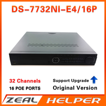 Buy HIK Original Version DS-7732NI-E4/16P 32CH 32CH PoE Port 4SATA poe nvr Surveillance Video Recorder ip camera for $439.60 in AliExpress store