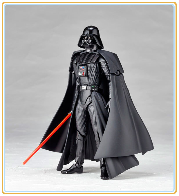 Star Wars Revoltech  Darth Vader Action Figure 16cm Figurine Model Toy Come with Retail Box<br><br>Aliexpress