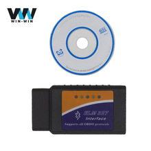 Elm327 v1.5 bluetooth with PIC18F25K80 OBD2 OBDII elm 327 bt Diagnostic Scan Tool elm327 bluetooth for Android Torque