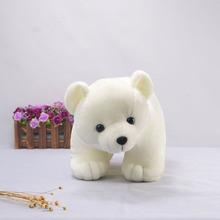 Kawaii Beanie Boo Polar Bear Soft Stuffed Doll Animal Cute Plush Toy Gift For Lovers Kids Children Toy Girls Dolls Gifts Ty MR95