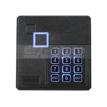 Buy DIYSECUR Black Waterproof 125KHz ID Card EM4100 Reader Wiegand 26 Access Control Keypad RFID Reader 103A for $17.38 in AliExpress store