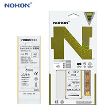 Original NOHON Battery For Apple iPhone 6 6G 1960mAh High Real Capacity 3.82V Built-in Phone Li-polymer Batteries +Package+Tools(China)