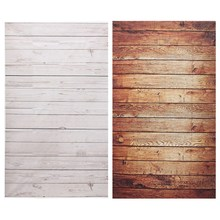 3x5ft Photography Background For Studio Photo Props Thin Wood Grain Photographic Backdrops 90 x 150cm Brown White(China)