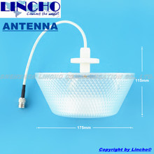 decorative antenna 800-960MHz/1710-2500Mhz 3dBI Omni indoor Ceiling Antenna for GSM,CDMA,WCDMA signal Repeater Booster(China)