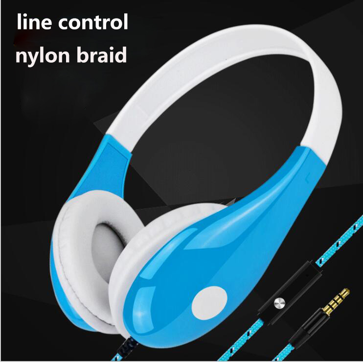 For iphone xiaomi mobile phone handsfree headset over ear headphone with mic line control voice call sport earphones<br><br>Aliexpress