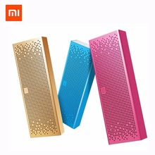 Xiaomi Bluetooth Speaker Micro SD Aux in Aluminum Frame Portable Wireless Portable Mini Player 8 Hours Handsfree New Original