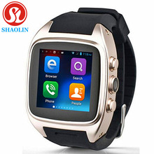 SHAOLIN Android Smart Watch Bluetooth SmartWatch with GPS+3G+WiFi+GPRS for Android Phone PK LEM5 Smart Electronics Smart Watches