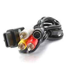 Lowest Price 1.8M 6FT AV TV S-Video Super For Nintendo For Gamecube 64 For SNES For NGC For N64 AV Cable(China)