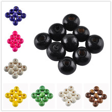 LNRRABC 5AAA+ 8MM 200pcs/lots Mix Color DIY/Handmade Round Wood Ball Spacer Bead for Fashion Jewelry Accessories(China)