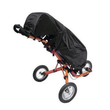 Black Waterproof Clubbers Universal Golf Trolley/Cart Bag Rain Cover New