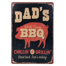 1pcs BBQ Retro Metal Tin Signs Poster Wall Dcor Bar Pub Garage Plaques Tin Signs Wall House Art decor Bar