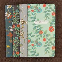 1PC Notepad Retro Dancing Butterflies Series Notebook Stationery The Kraft Paper Blank Diary Book Office School Supplies