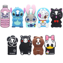 16 Types For Xiaomi Redmi 4 Case Xiaomi Redmi 4 Pro Prime Cover Lovely 3D Cartoon Soft Silicon Cover For Xiaomi Redmi 4 Pro(China)