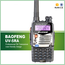 New  Baofeng UV-5RA For Police Walkie Talkies Scanner Radio Vhf Uhf Dual Band Ham Radio Transceiver Free Headset