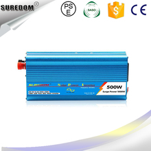 Inverter Solar Dc12v To Ac 220v inverter  Full 500w Peak 1000w  pure sine wave Car Power Inverter  Best Quality