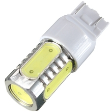Lowest Price T20 7443 W5/21W 7.5W DC8V-24V Pure White Car Auto Tail Turn Signal LED Lights Lamp Bulb