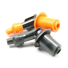 10pcs/lot Universal Motorcycle engine spark plug Cap used for Honda CG125 CG150 fit on all model spark plug(China)