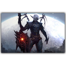 Lineage II 2 Artwork - Video Game Poster Print Wall sticker Home Decoration Wallpaper YX276