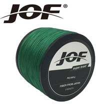 JOF Brand Braided Fishing Line 1000m Smooth Multifilament PE 8Strands Braided Cord 13LB - 200LB Strong Japan Technology(China)