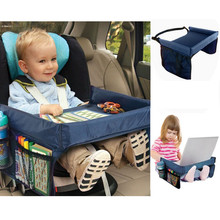 New Arrival Foldable Safety Baby Car Seat Table Kids Play Travel Tray ju27