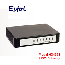 Original Newrock 2 FXS SIP VoIP Gateway,analog VoIP adapter.Elastix compatible,Mitel certificated ATA 2 analog Telephone line