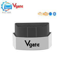 Vgate Icar3 via Bluetooth VERSION 2.1 Elm 327 mini Diagnostic Tool OBD2 elm327 Code Reader Icar 3 scan Works on Android 5 color(China)