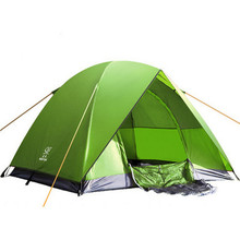200*200*135cm Double Layer Camping Tents Waterproof Family-size Rrainproof Ourdoor Camping Tent for Hiking Tents