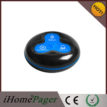 Most Cheap Wireless Calling System for Coffee Restaurant 10buttons data transmitter 1watch receiver(China)