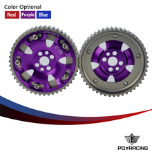 PQY RACING- (One Pair)CAM GEARS KIT FOR NISSAN SKYLINE RB20 RB25 RB26 R32 R33 R34 PQY6536(China)