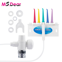 New 600ml Oral Irrigator Dental Teeth Water Flosser Flossing Set Tooth Cleaner Water Pick Machine With 5 Jet Tips