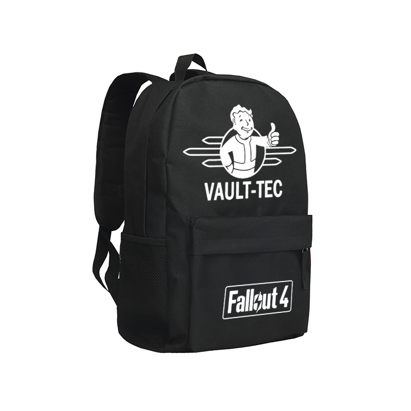 Zshop Vault Boy Backpack For Boys and Girls Oxford Mochila Famouse Computer Game Fallout 4 Bookbag Kids Shoulder Bags Laptop <br>