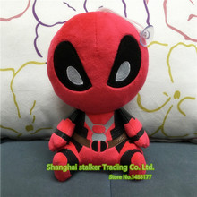 2016 New X-men Blocks Deadpool 20cm Plush doll Collectible Wade Winston Wilson Toy Christmas gift(China)